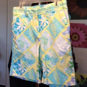 LILY PULITZER SHORTS..IN GOOD CONDITION